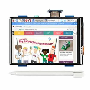 3.5″ Touch Screen LCD Display for Raspberry PI3/PI2/B/B+/A/A+ HDMI Resolution Could be 1920*1080