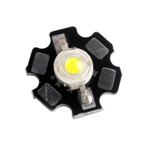 LED WHITE 3W WITH BOARD