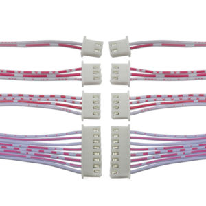 Red and white cable XH2.54 2.54MM 20CM single head 7P