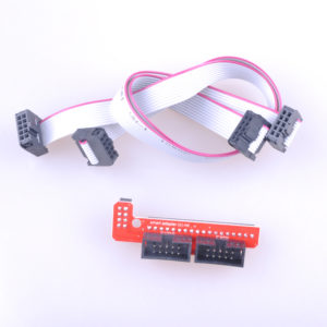 Smart Adapter for 3D Printer Ramps 2004 LCD Controller with 2pcs 20cm Dupond Calbe Wire Line